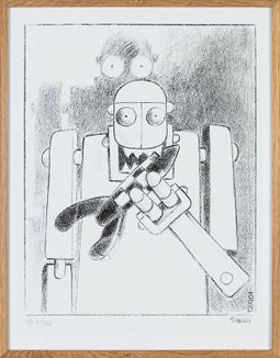 Robot, Jacques Tardi
